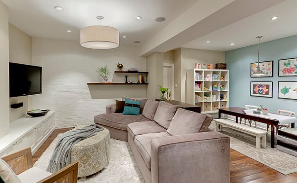 Relaxation room in the basement 5 Things to Consider before Finishing Your Basement