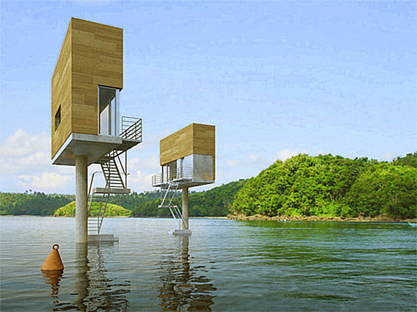 Tiny houses the best in modern compact living for Elevated modern house design