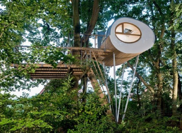 Treehouse Djuren Germany Awesome Tree Houses for Kids