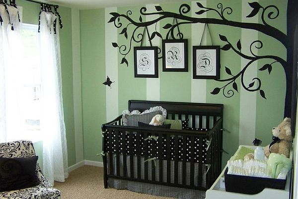 Nurturing nursery room designs top eight things for your baby for Creative baby rooms