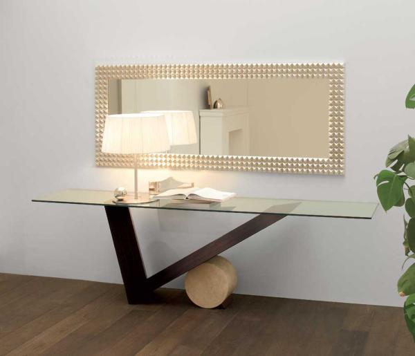 View In Gallery And Finallyu2026an Unusual Console Table Demands An Centerpiece