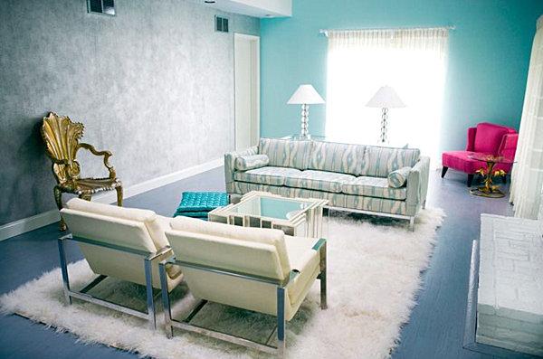aqua-blue-living-room