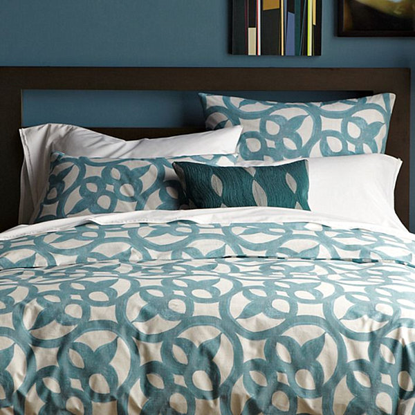 architectural modern organic bedding