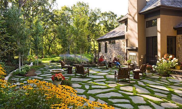 Beautiful backyard landscape design for Yard landscape design