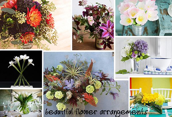 beautiful flower arrangements Flower Power: 25 Dazzling Floral Arrangements