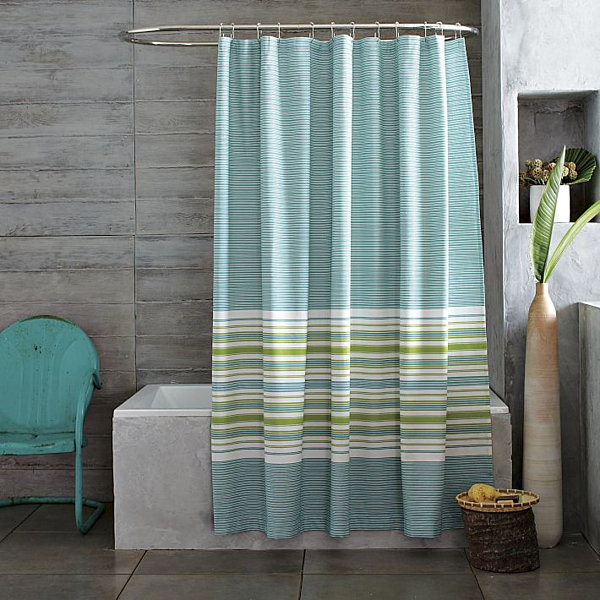 Blue And Green Kitchen Curtains Pottery Barn Lucianna Med
