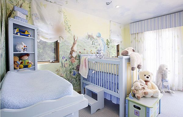 Nurturing nursery room designs top eight things for your baby for Baby boy bedroom decoration