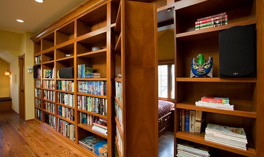 Three Ways To Introduce The Bookshelf Doorway To Your Home