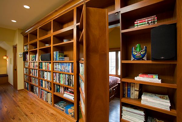 bookshelf hidden doorway Three Ways To Introduce The Bookshelf Doorway To Your Home