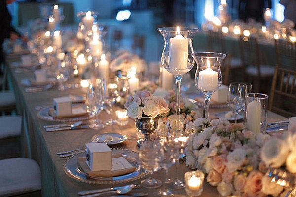 candlelight table setting The Party Table: 25 Entertaining Themes for Your Next Event