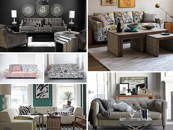 chic sofa designs Sofa Style: 20 Chic Seating Ideas