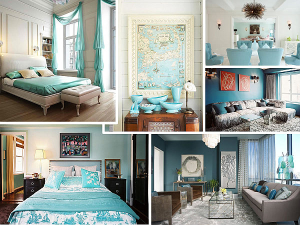 cool blue interior design