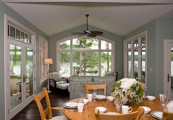country - Country Cottage Dining Room Ideas