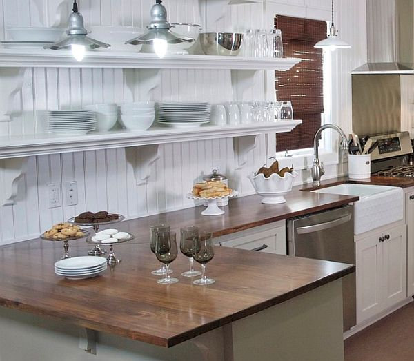 Country Cottage White Kitchen Design