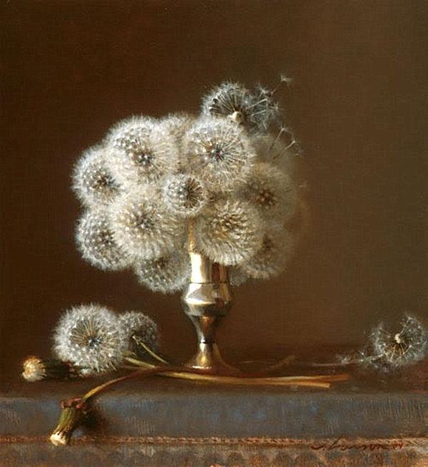 dandellion floral arrangement