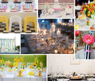 dining table party setups