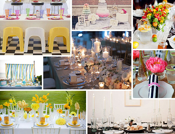 dining table party setups The Party Table: 25 Entertaining Themes for Your Next Event