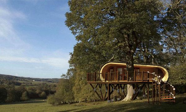 eco-perch modern compact housing