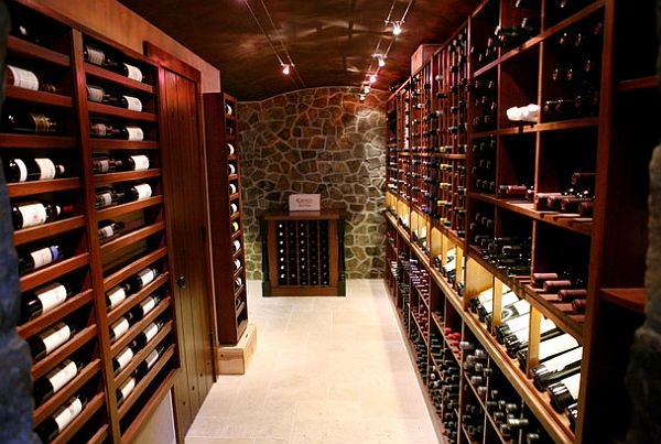 exposed walls wine cellar Eight Inspiring Wine Cellar Designs for Any Wine Lover