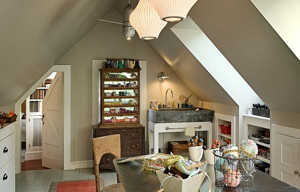 view in gallery fairytale attic space