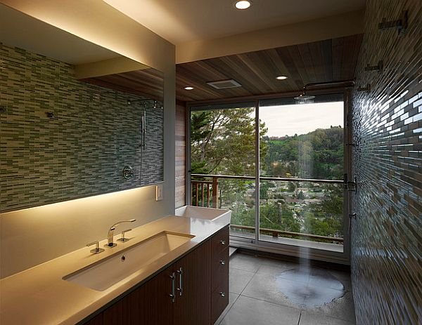 view in gallery fancy bathroom shower with no doors