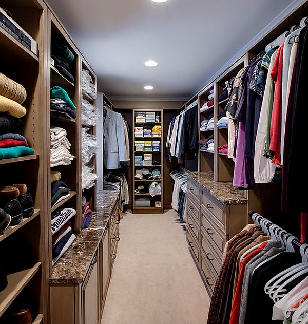 Floor to ceiling closet furniture