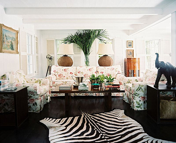 The Safari Themed Room Is Make A Splash With Tropical Interior Design