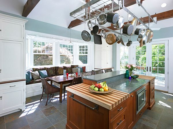 ... Hanging Pots The Kitchen 15 Simple E Saving Solutions