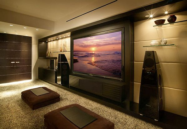 Media Room Wall Decor 9 awesome media rooms designs: decorating ideas for a media room