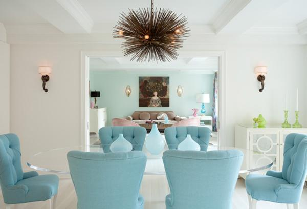 ice blue decor