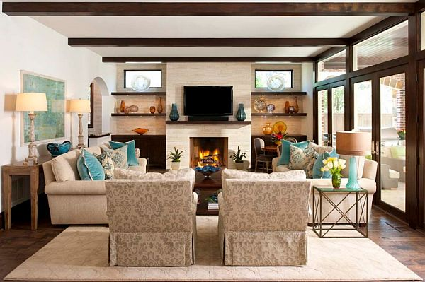 How to stage your home to sell fast for Tv placement in living room