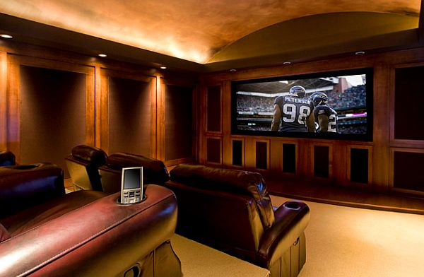 9 Awesome Media Rooms Designs: Decorating Ideas for a Media Room