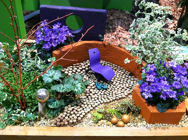 miniature garden looks like colorful park How to Create Miniature Gardens