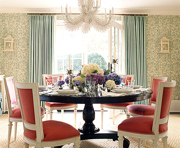 Back to pastel interior design that takes the cake for Pastel dining room ideas