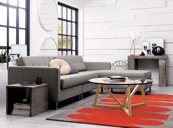 modern-grey-sectional-sofa
