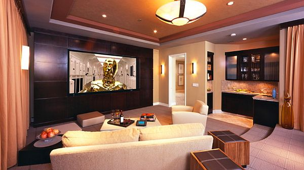 Modern Home Theater Room Decoist