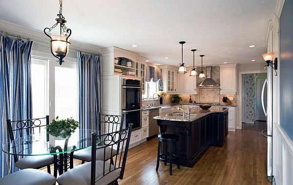 Charmant View In Gallery Dining Room U2013 Kitchen Decor In Navy Blue