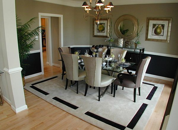 View In Gallery Navy Blue Dining Room