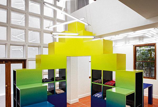 ombre shelves architecture at large rafael de cardenas