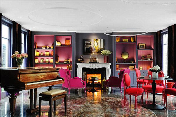 parisian hotel french interior design