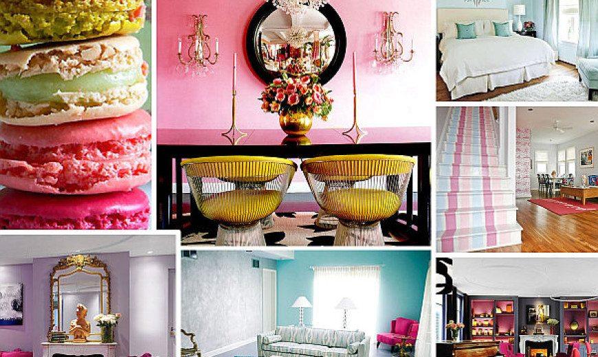 Pastel Interior Design That Takes the Cake