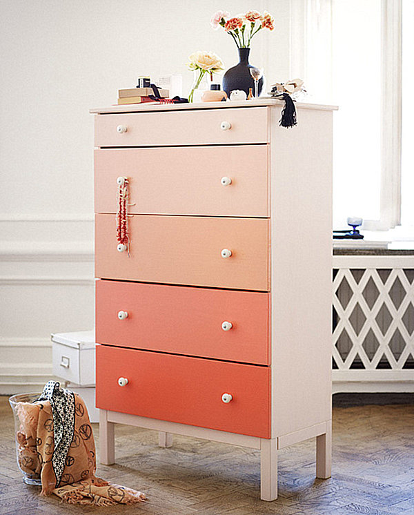 pink ombre dresser Create a Color Gradient With Ombre Design