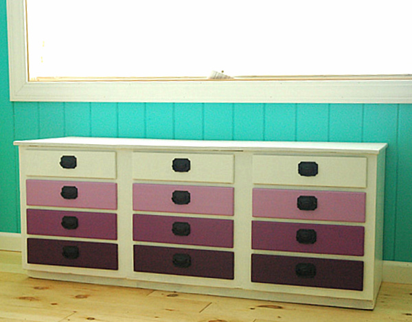 purple-ombre-dresser