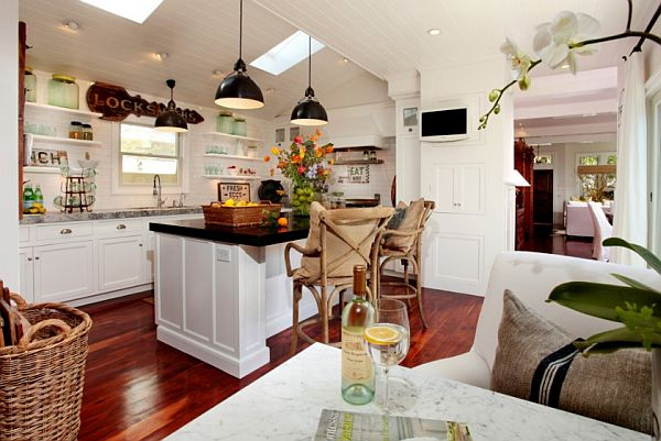 rattan kitchen furniture – beach house