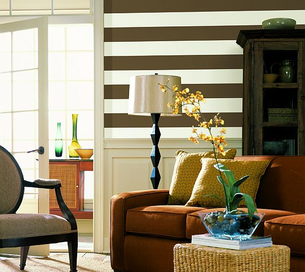 rooms design with stripes Room Decorating With Stripes: Guide To Understanding 5 Essential Lines of Décor