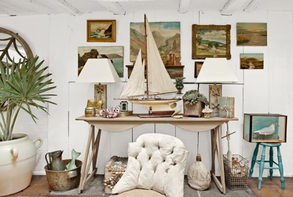 ship inspired new york loft art work Truly unique New York home is crafted from a salvaged old schooner