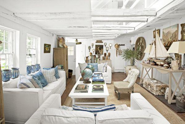 ship inspired new york loft – living room