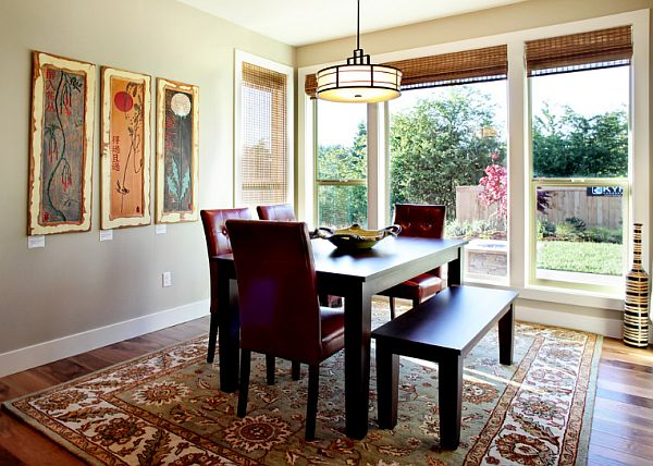 simple living room dining room decor