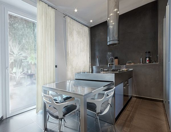 sleek-kitchen-island-with-pull-out-dining-table