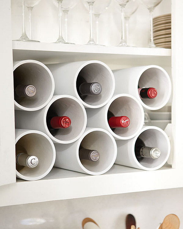 Diy Wine Rack Pvc Pipe The Pvc Wine Rack/shoe Rack